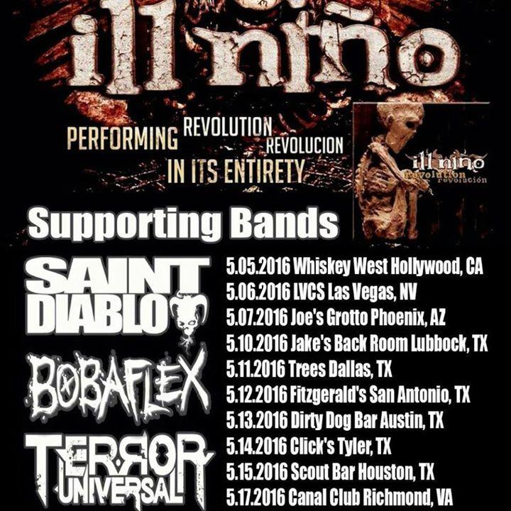 Tito Quinones Tour Dates