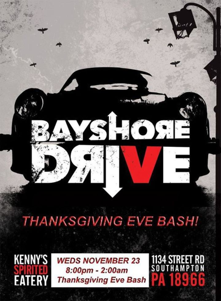 Bayshore Drive Tour Dates