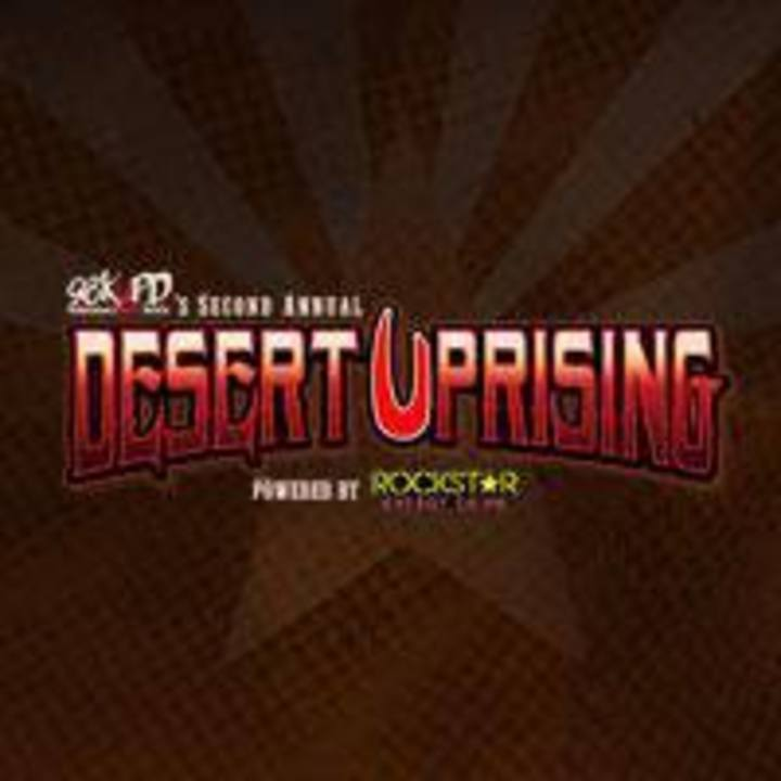 Desert Uprising Tour Dates