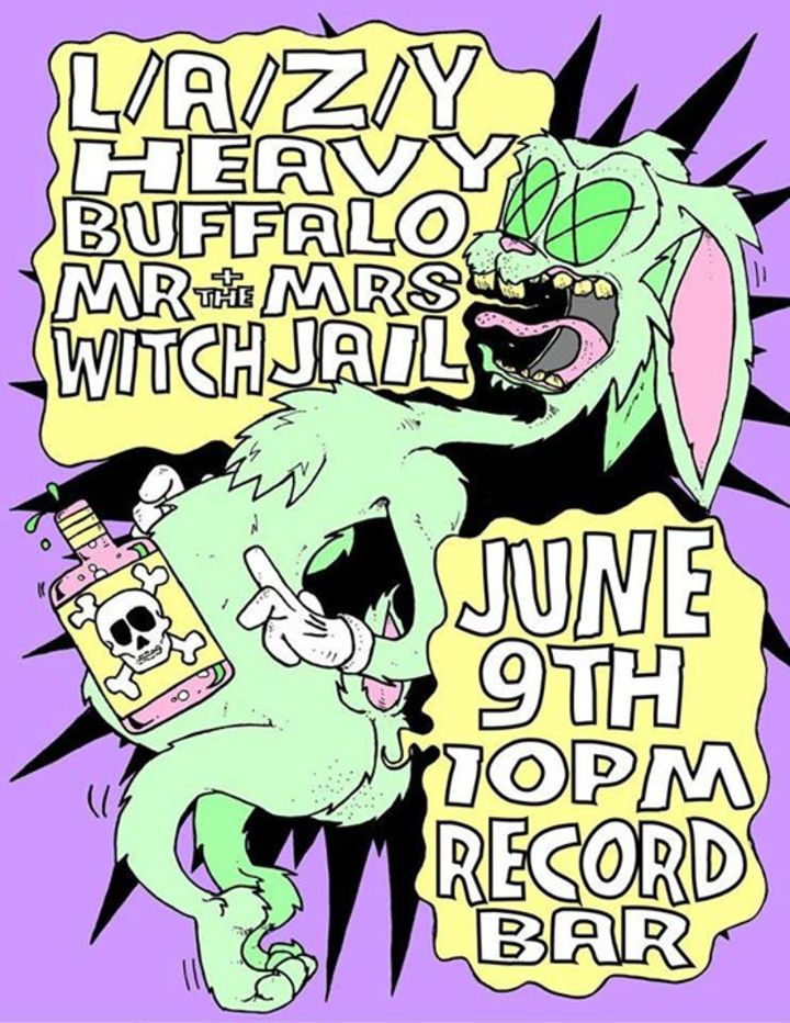 Heavy Buffalo Tour Dates