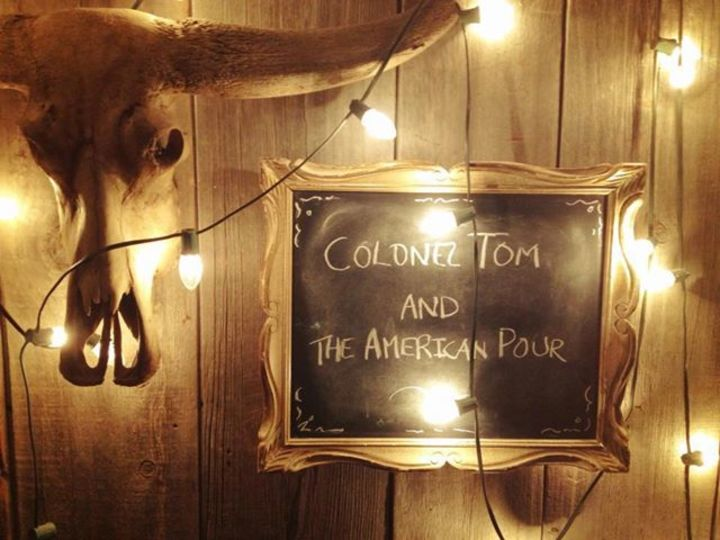Colonel Tom and the American Pour Tour Dates