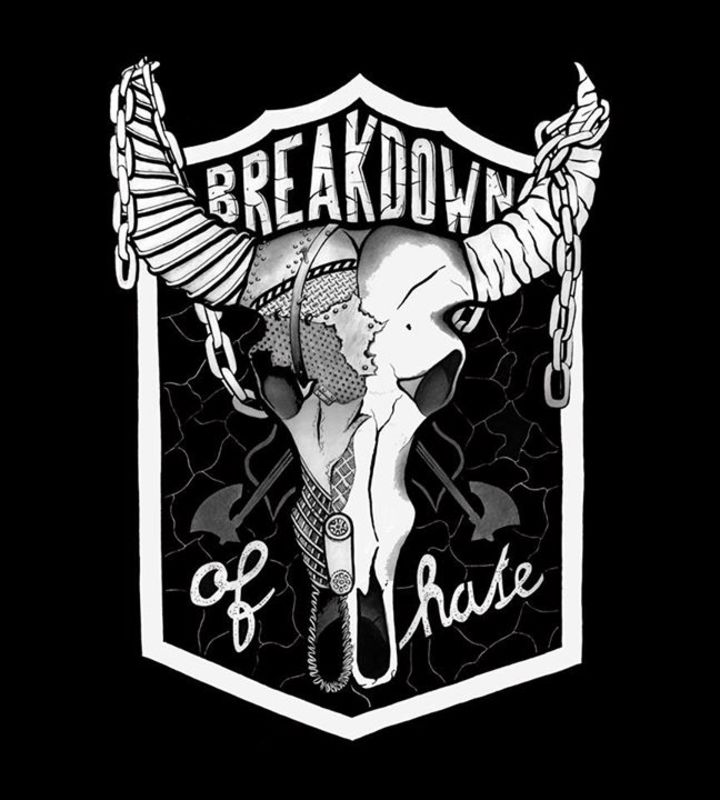 BreakDown of Hate (Official) Tour Dates