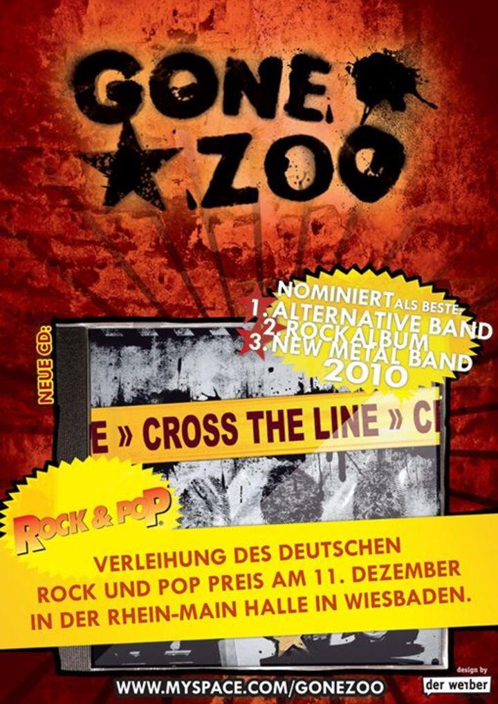 GoneZoo Tour Dates