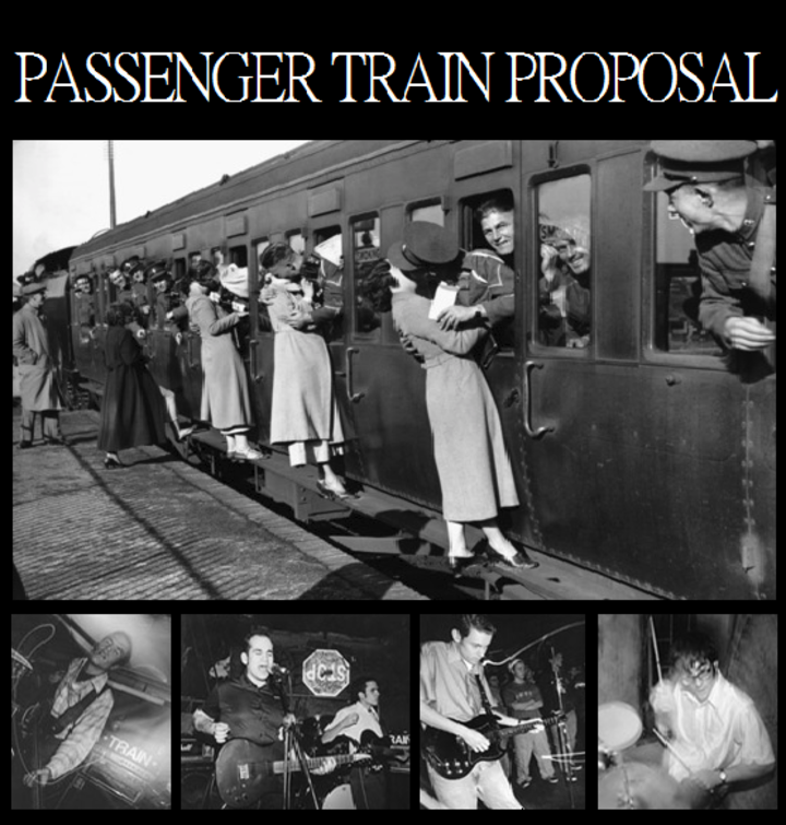 Passenger Train Proposal Tour Dates