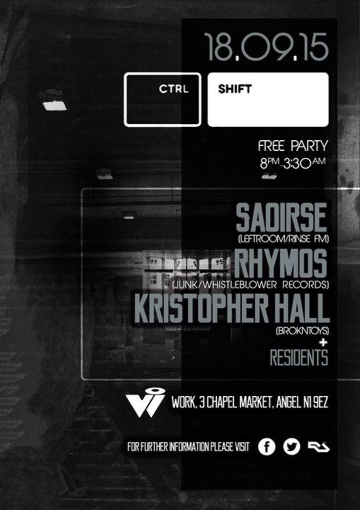 CTRL SHIFT Tour Dates