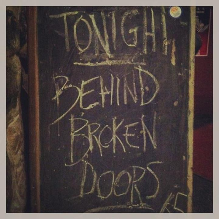 Behind Broken Doors Tour Dates