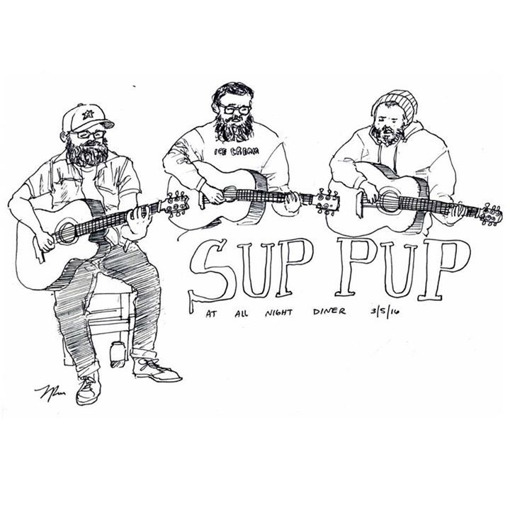 Sup Pup Tour Dates