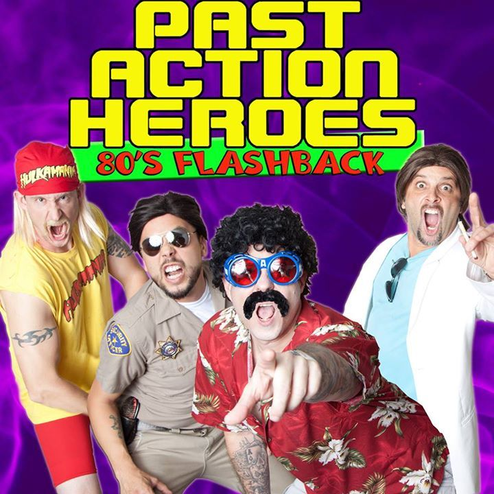 Past Action Heroes Tour Dates