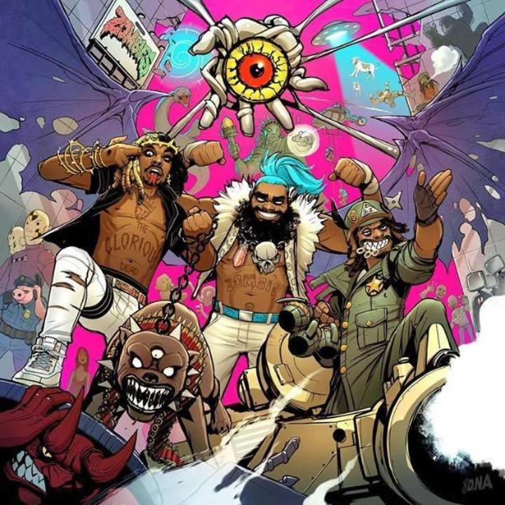 Flatbush Zombies Official @ The Phoenix Concert Theatre - Toronto, Canada