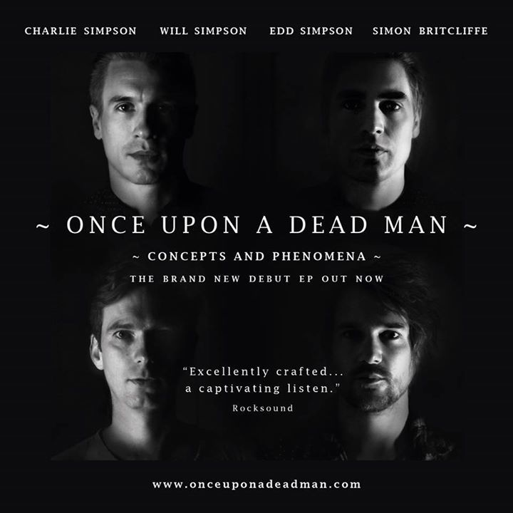 Once Upon a Dead Man Tour Dates