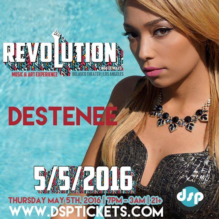 DESTENEE Tour Dates