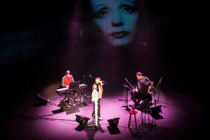 Edith Piaf Trio @ Auditori Can Roig I Torres - Santa Coloma De Gramenet, Spain
