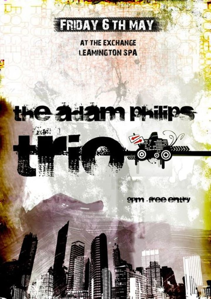 The Adam Phillips Trio Tour Dates