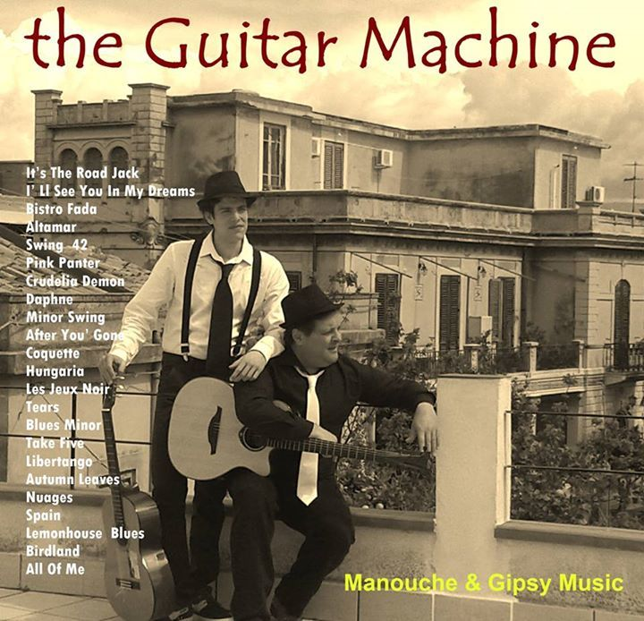 The Guitar Machine Tour Dates