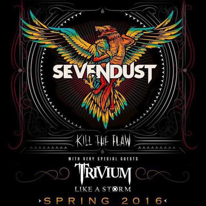 Sevendust @ Hard Rock Live - Biloxi, MS