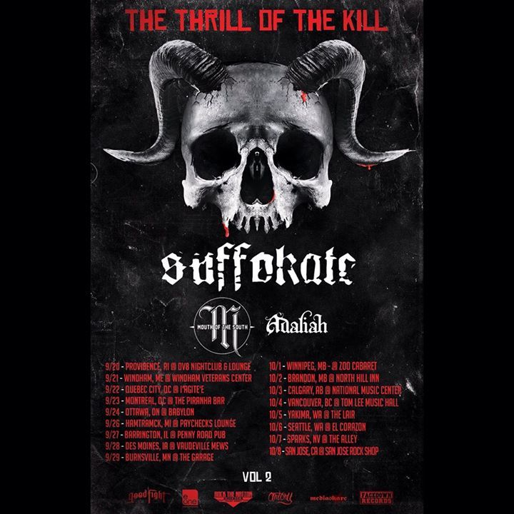 Suffokate Tour Dates