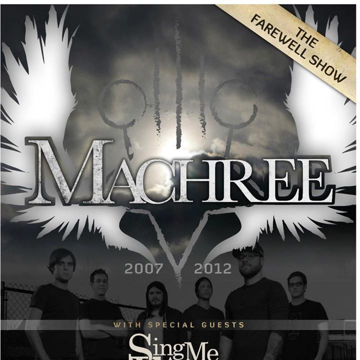 Machree Tour Dates
