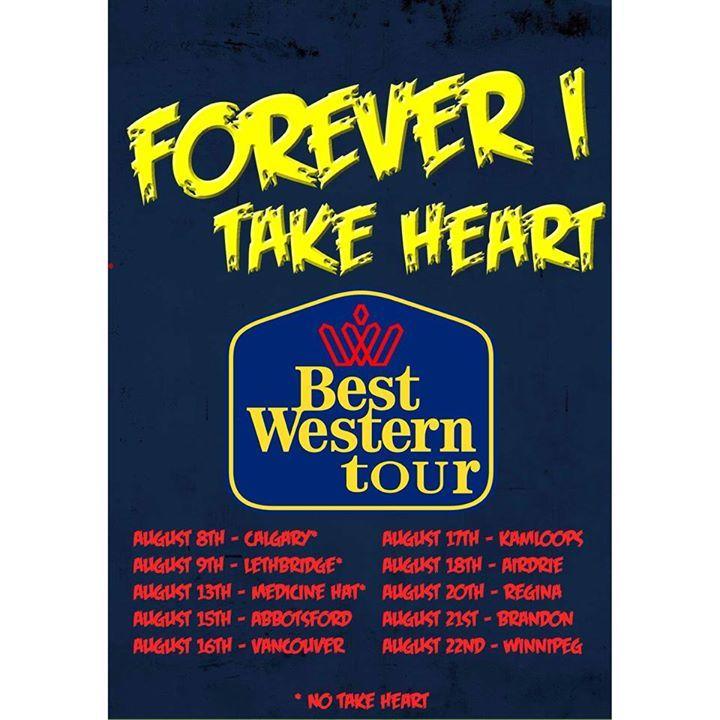 Forever I Tour Dates
