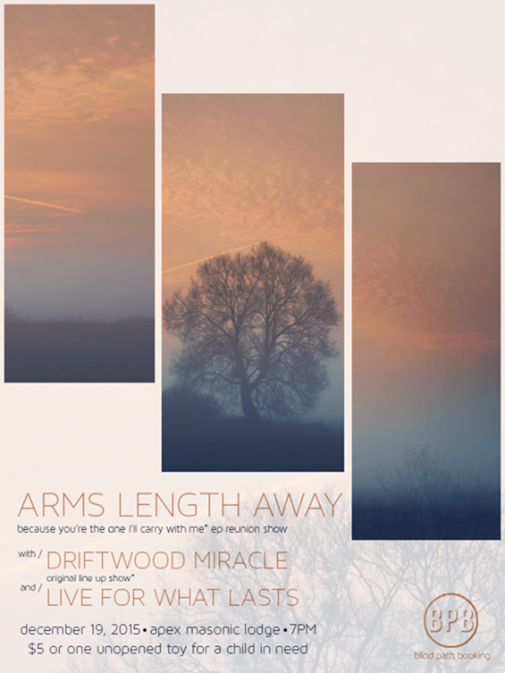 Arms Length Away Tour Dates