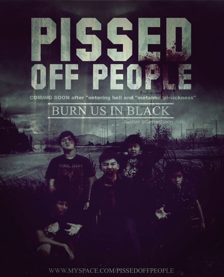 The pissed off people Tour Dates