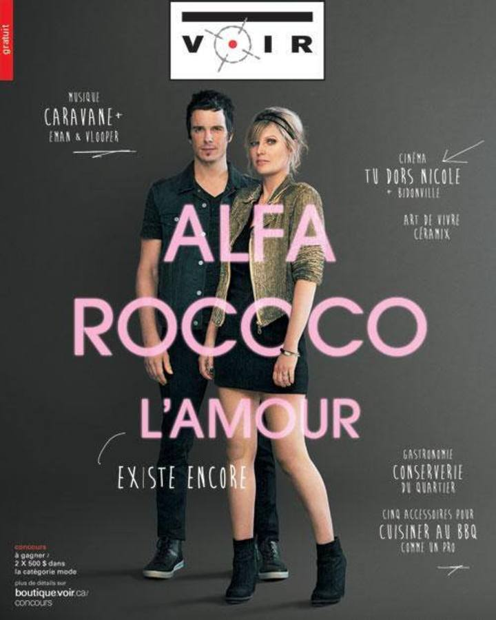 Alfa Rococo Tour Dates