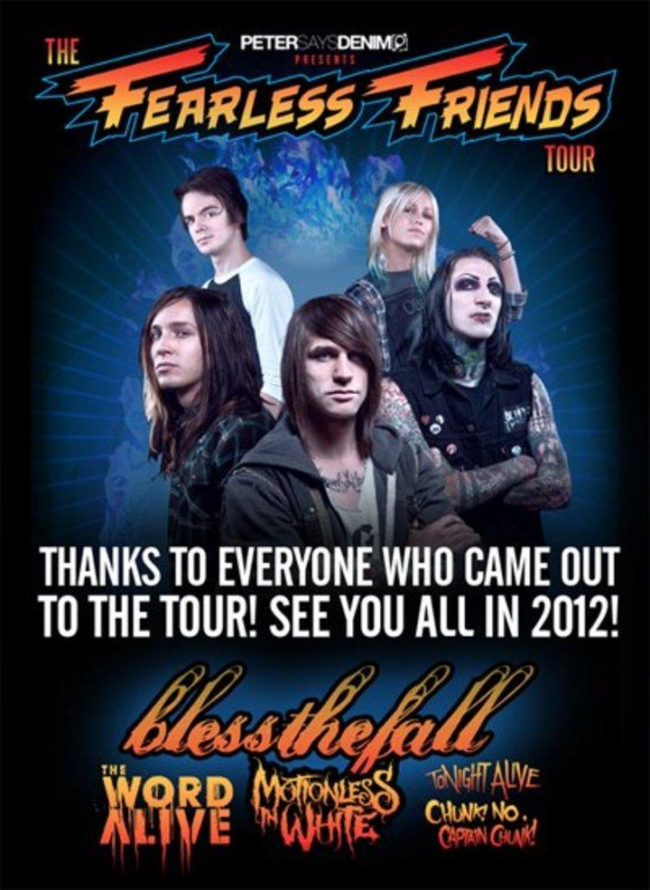 Fearless Friends Tour Tour Dates