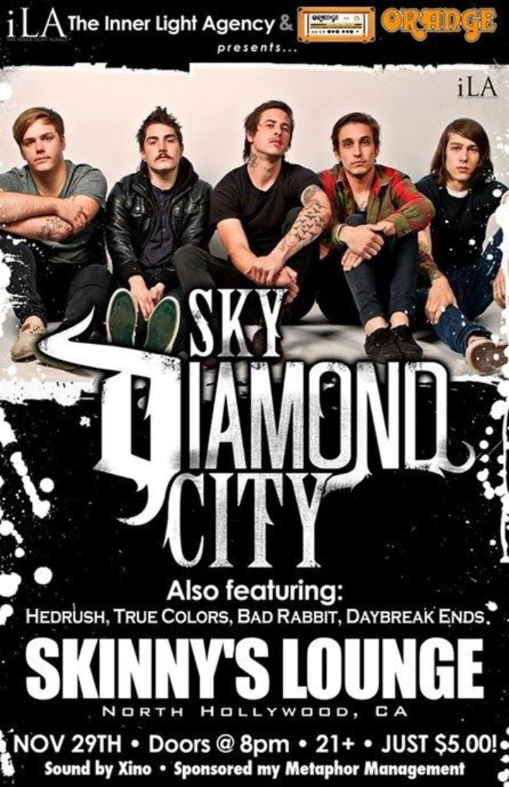 Sky Diamond City Tour Dates