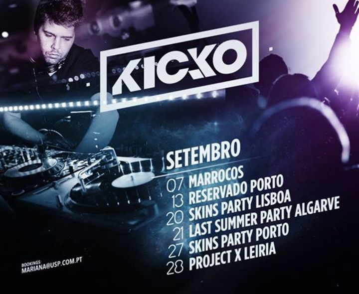 KICKo Tour Dates