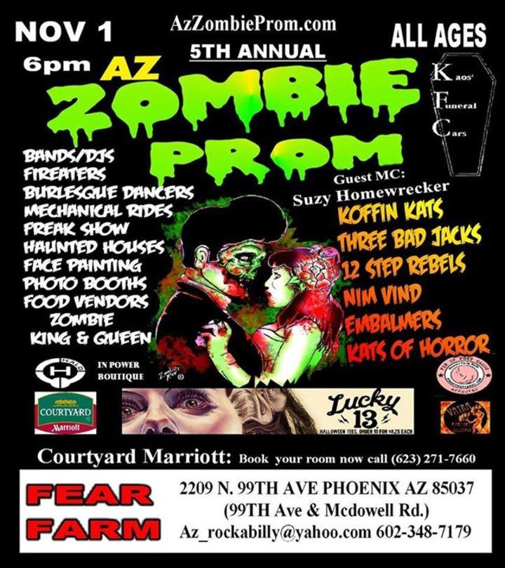AZ Zombie Prom Tour Dates