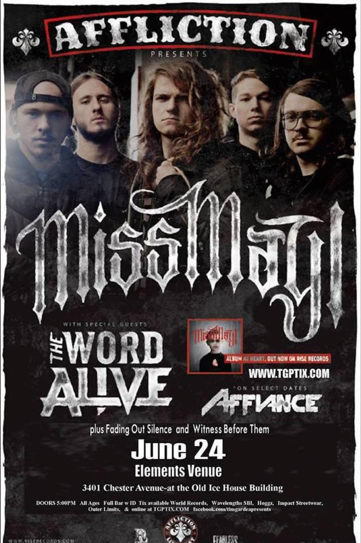 WitnessBeforeThem Tour Dates