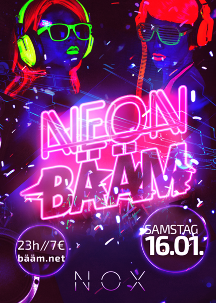 NEON BÄÄM by delaForce Tour Dates