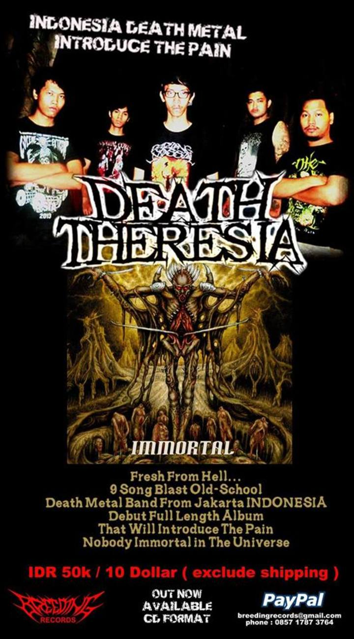Death Theresia Tour Dates