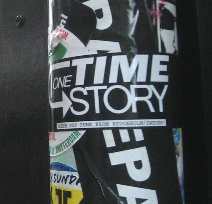 One Time Story Tour Dates