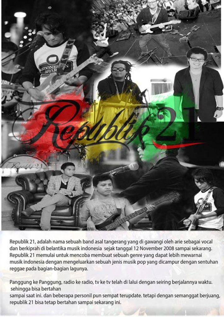 Republik 21 Tour Dates