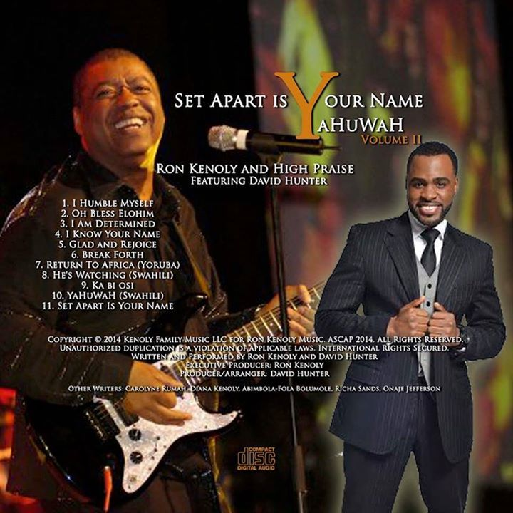 Ron Kenoly Ministries Tour Dates