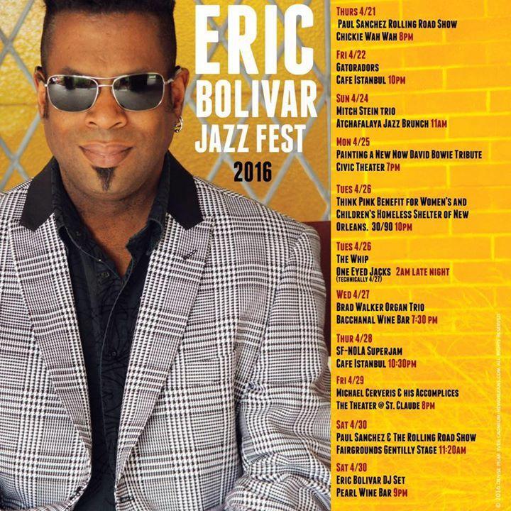 Eric Bolivar Tour Dates