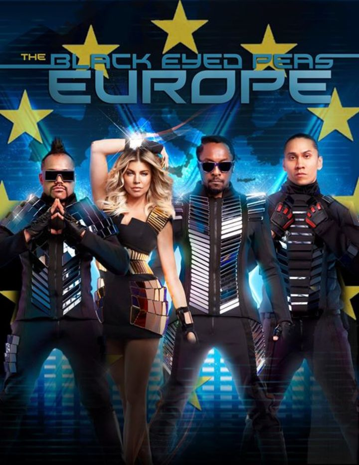Black Eyed Peas Europe Tour Dates