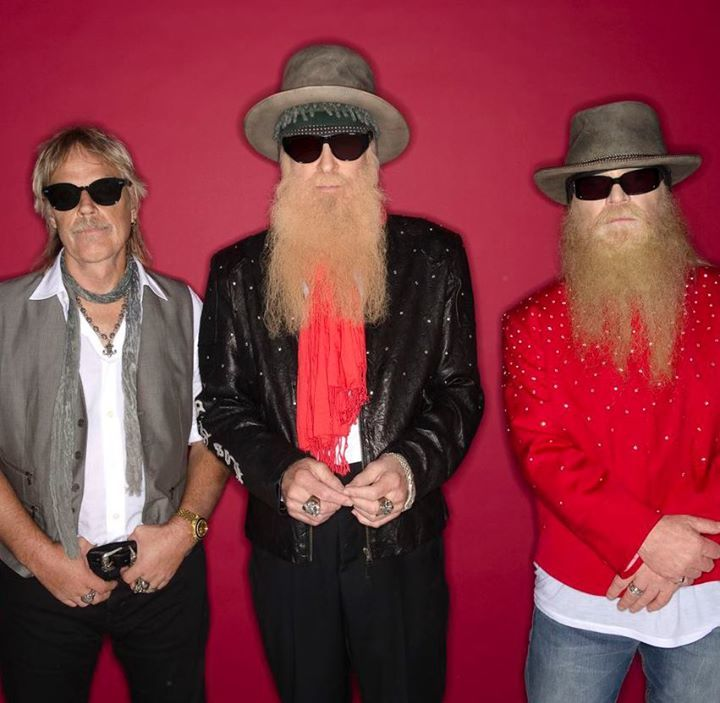 ZZ Top @ Forest National - Forest, Belgium