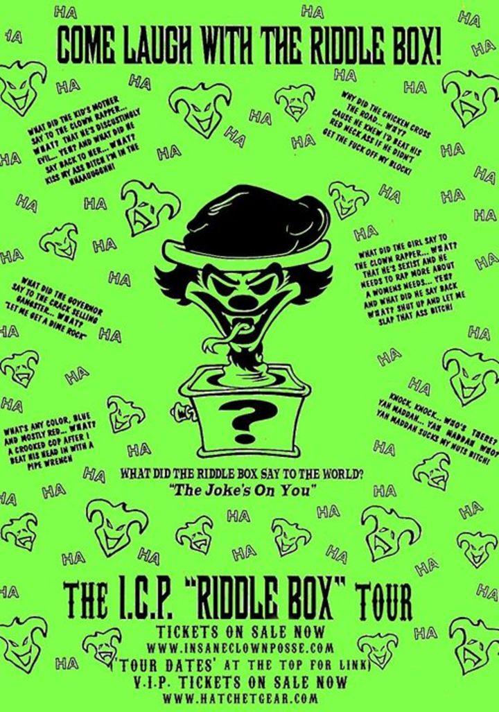 Psychopathic Records Tour Dates