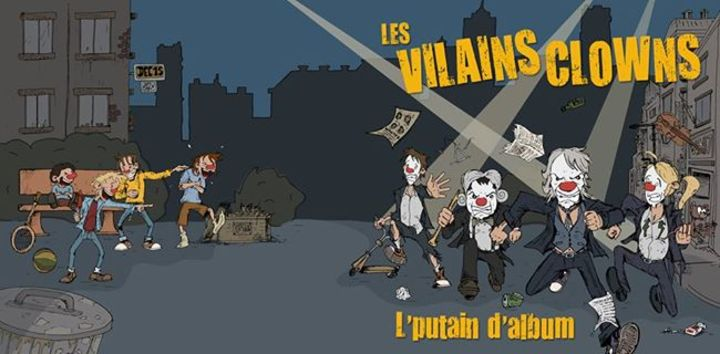 Les Vilains Clowns Tour Dates