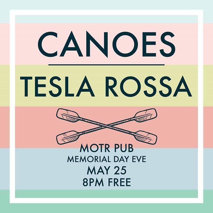 Canoes Tour Dates