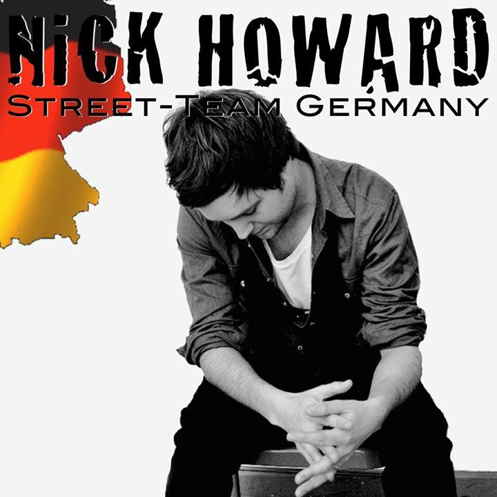Nick Howard Street Team Germany Tour Dates