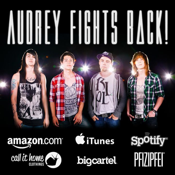 Audrey Fights Back Tour Dates