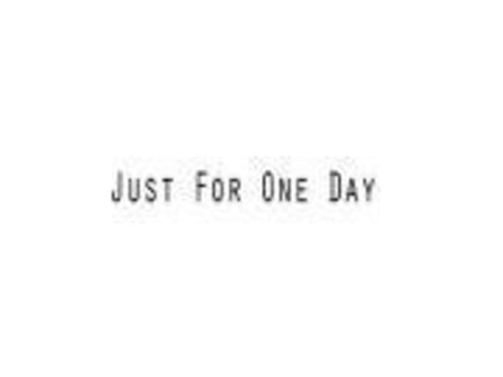 Just For One Day Tour Dates