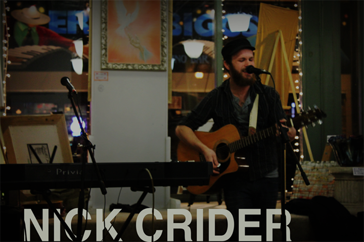 Nick Crider (Music) Tour Dates