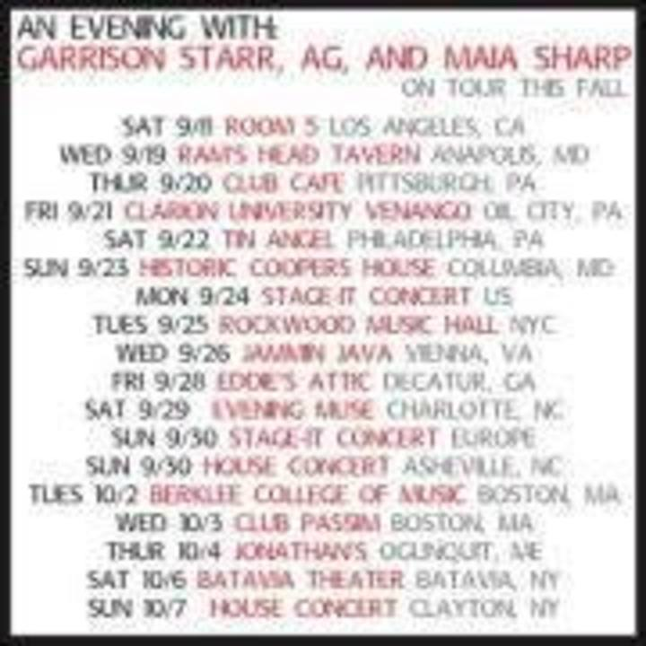 Adrianne Tour Dates