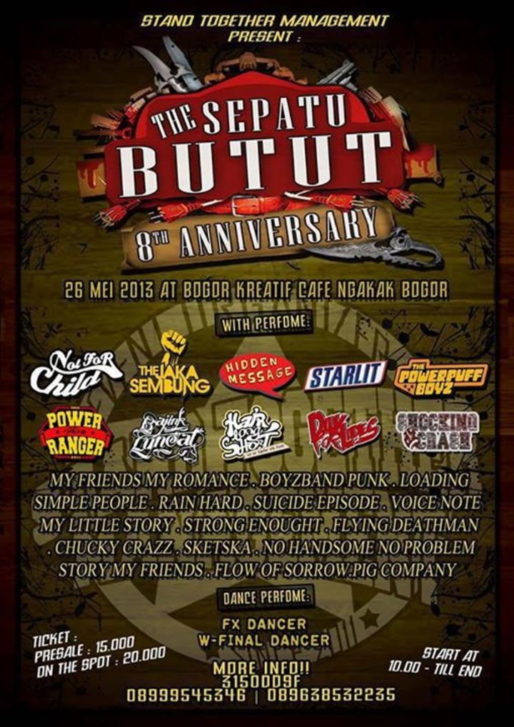 The Sepatu Butut Tour Dates