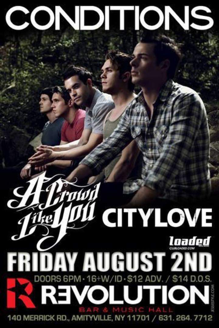CityLove Tour Dates