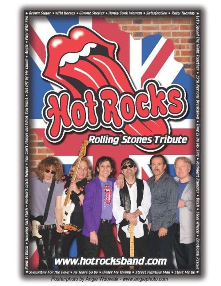 Hot Rocks Band - Rolling Stones Tribute Tour Dates