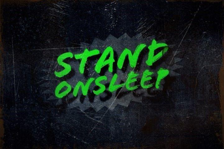 Stand on Sleep Tour Dates